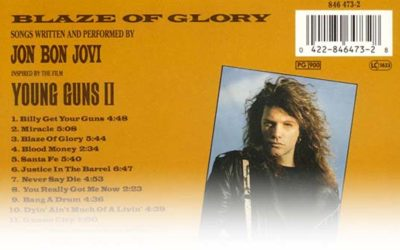 Jon Bon Jovi – Blaze Of Glory